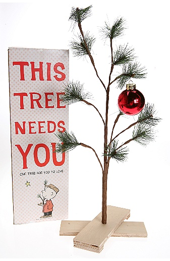 Get A Charlie Brown Christmas Tree, For Real - Shakadoo