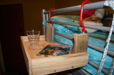 Flying Bunk Bed Nightstand Shakadoo
