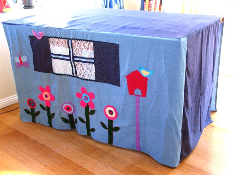 how to make a blanket fort without chairs