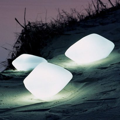 ... Stone Light by Oluce. 0627olucestonei_2 & Outdoor Lighting with Style - Shakadoo azcodes.com