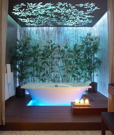 Bathe yourself in luxury shakadoo for Deco salle de bain nature zen
