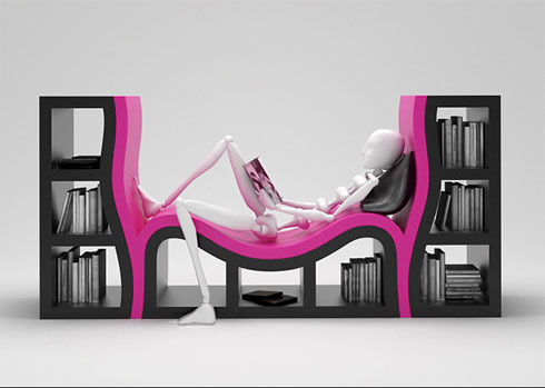 As a bona fide book lover, I am always on the lookout for bookshelves that